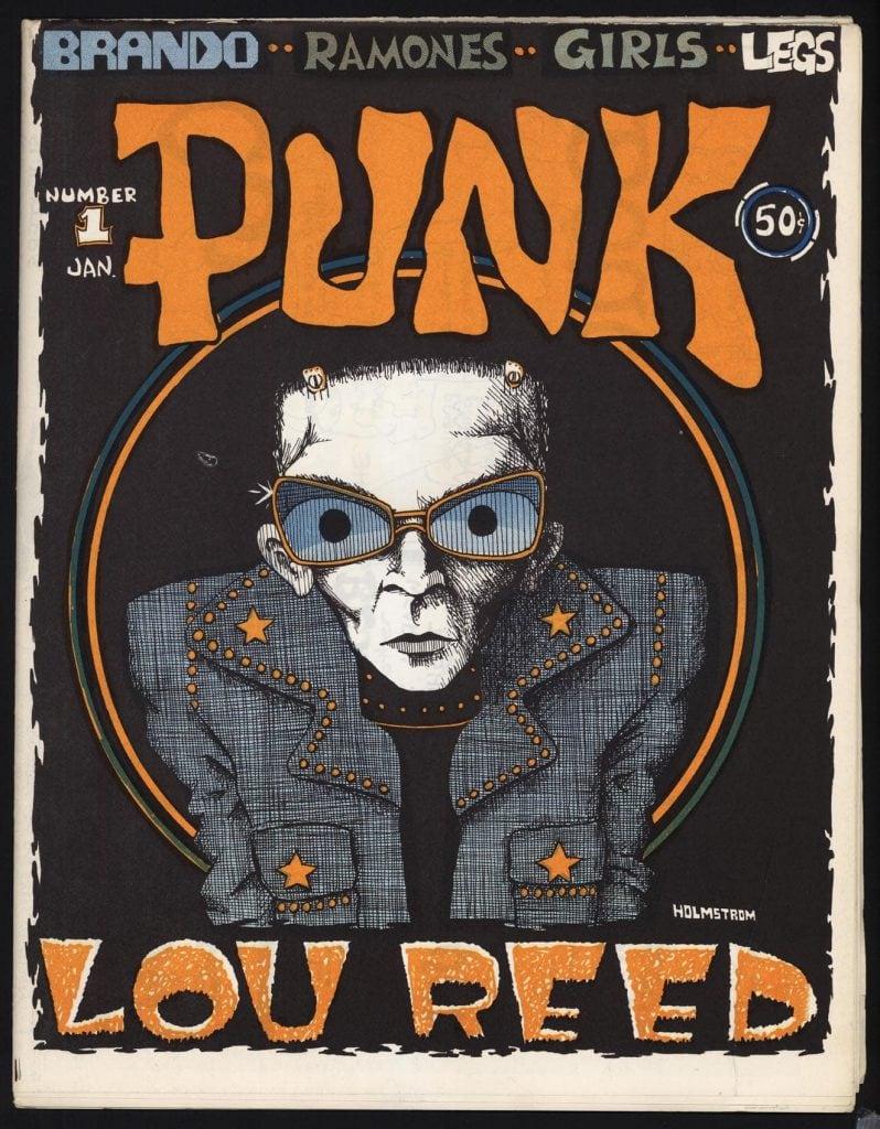 Punk magazine 40th anniversary exhibition howl arts for Anniversary magazine