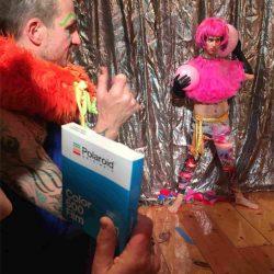 Howl Edu - Gail Thacker's Klown Portrait Polaroid workshop, January 2019