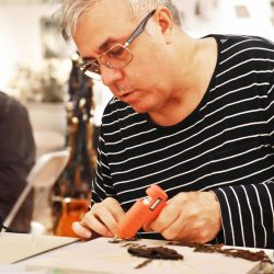 Sculpturmania - a workshop taught by Linus Coraggio at Howl!, New York NY