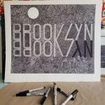 Ian Knife, text based drawing