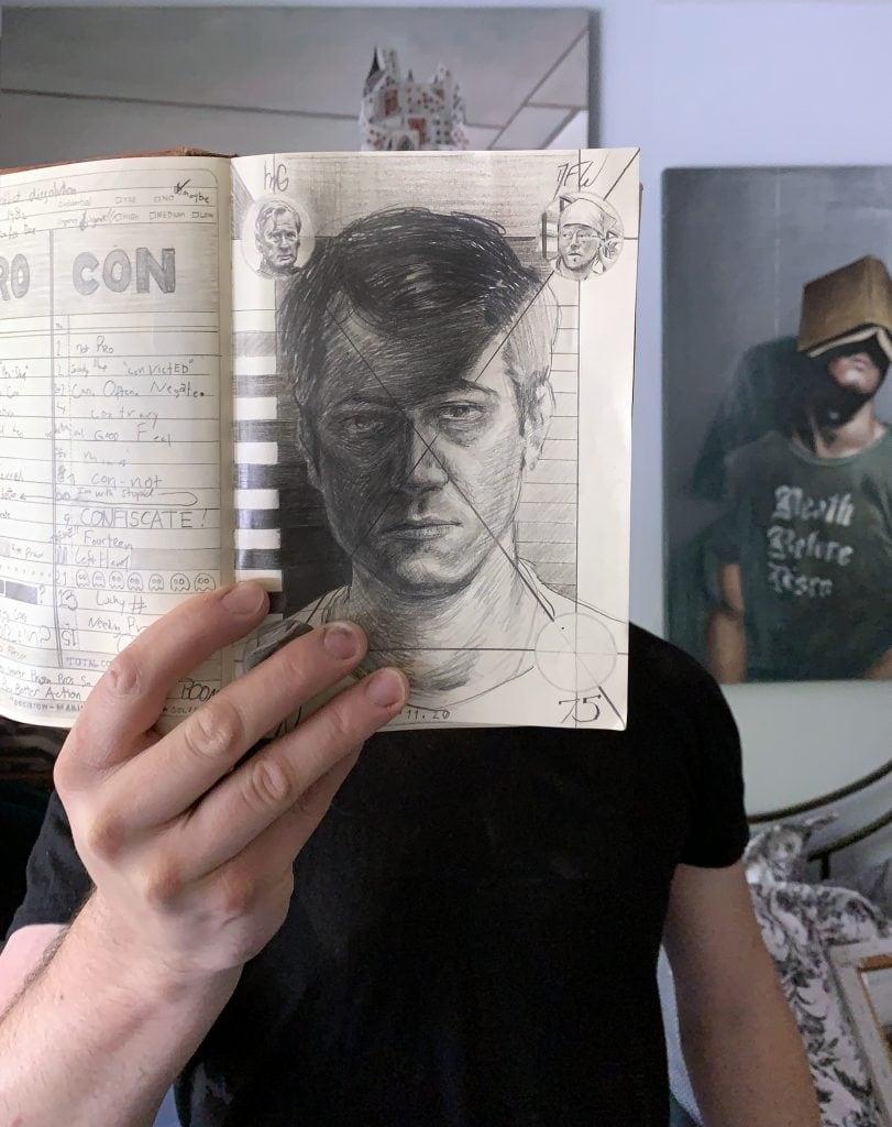Sal Schiciano Self Portrait