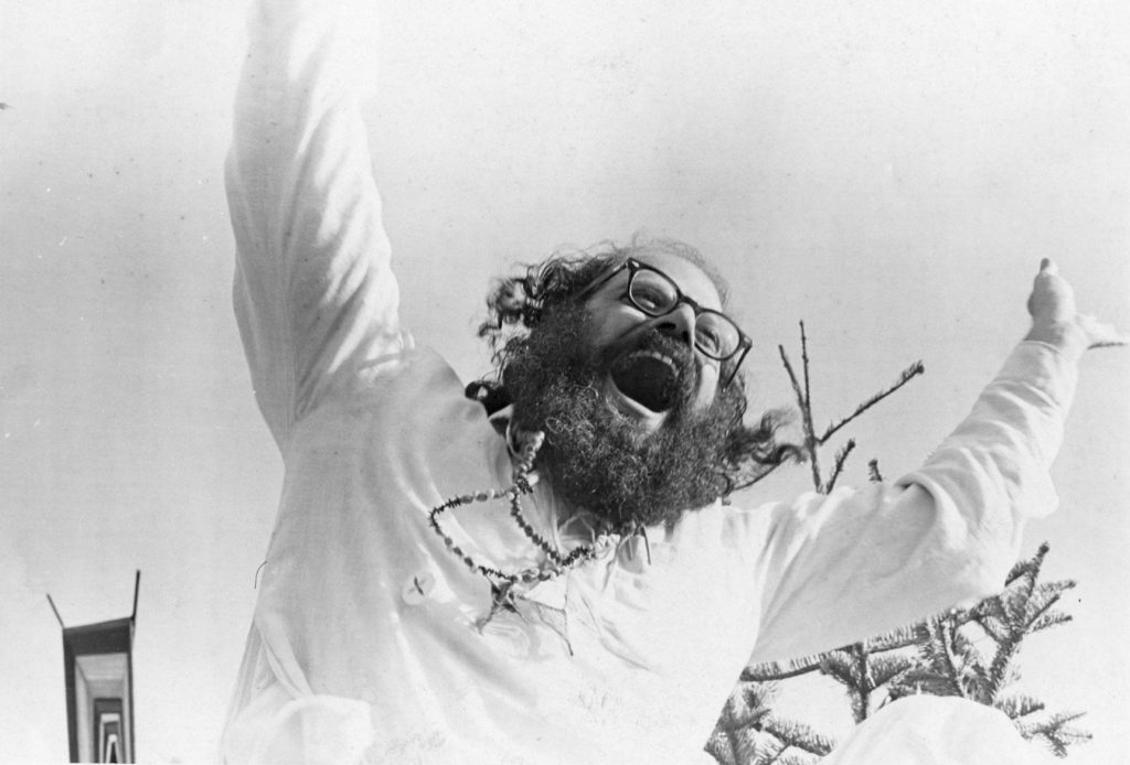 Allen Ginsberg howling by Beth Bagey