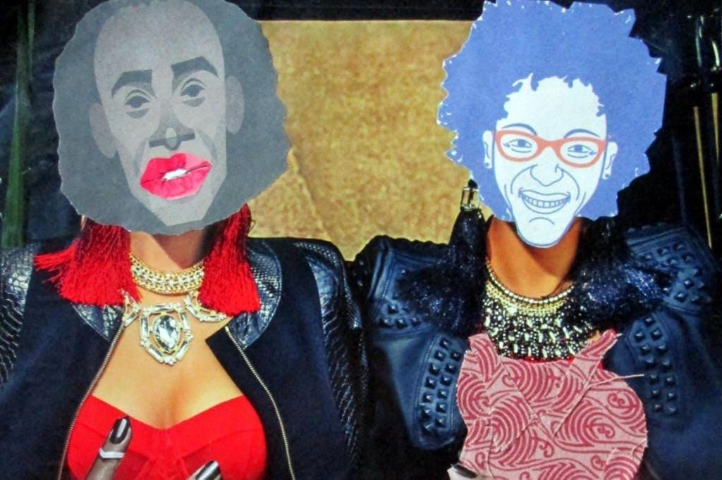 Silvia Sanza #howlathome collage