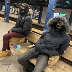 howl high photo friends waiting for a train