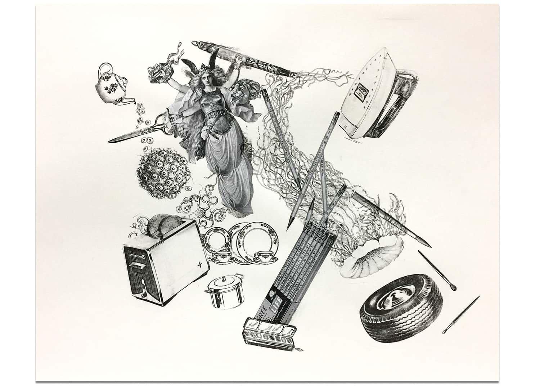 Example of Transfer Art by Marlene Weisman