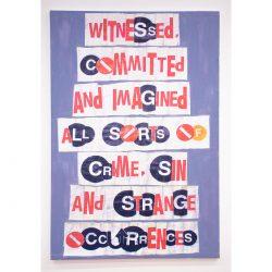 Al Diaz Text Art