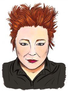 chavisa woods portrait illustration