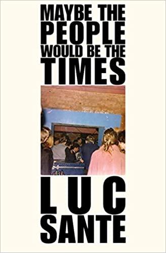 Luc Sante Book Cover