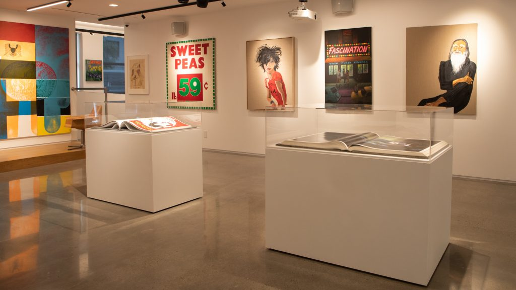 Icons, Iconoclasts, and Outsiders Installation