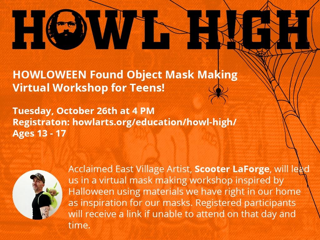 Howl High Halloween Workshop